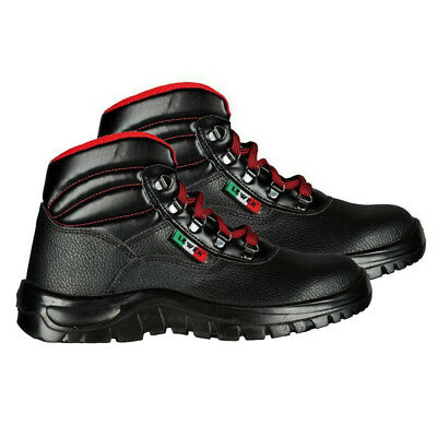 Low Safety Antinfortunistica Nero 08040n Rosso Art Shoes S1p Scarpe Lewer Alta 8FBqwB