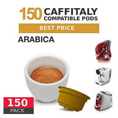 Arabica - 150  Coffee Capsules Caffitaly Compatible by Best Espresso