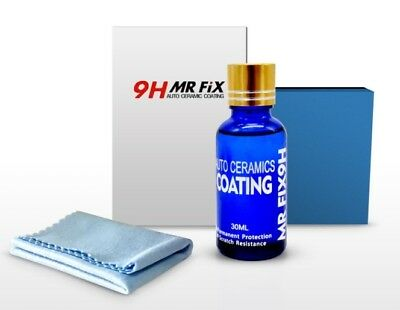9H MR Fix : 9H liquid glass crystal coating (Kit boite 30 ml) Ceramic