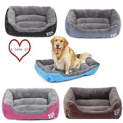 Extra Large Dog Cat Puppy Pets Bed Basket Mat House Waterproof Warm Soft Fleece