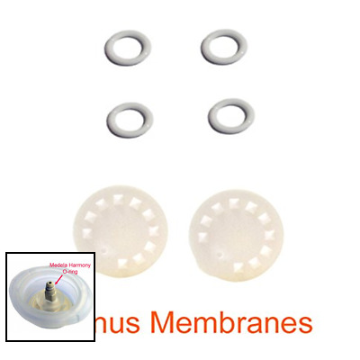 Replacement Parts For Medela Harmony Manual Pump 4 O Rings 2 Membranes By Maymom