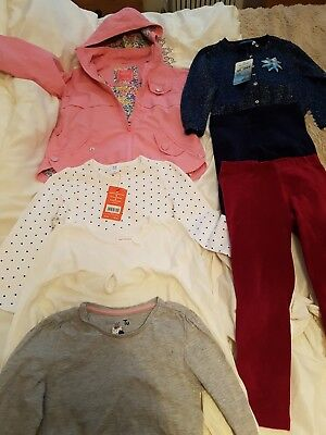 Girls Small clothes bundle  3/4Y Next coat/boots/m&co/Tu