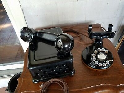 Western Electric 102 Telephone With 684A Sub Set,4H Dial,e1 Seamless Receiver