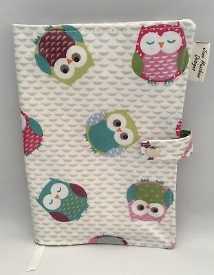 A5 Diary Cover,Journal Cover,Nurses Diary Cover,Week To View Cover,Owls