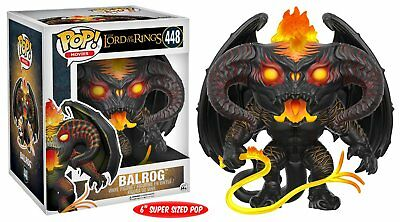 "Figurine Funko Pop! Movies the Lord of the Rings 448 Balrog 15cm 6"" Super Sized"