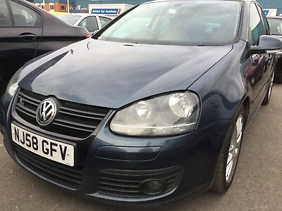 """58 Vw Golf 2.0 Tdi 140 Gt - 9 Services, Leather, 17"""" Alloys, Air-Con, 2F/owners"""