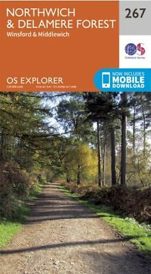 OS Explorer map 267: Northwich and Delamere Forest
