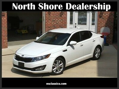2013 Optima EX-GDI-ONE OWNER-VERY NICE-CLEAN CARFAX White Kia Optima with 42,000 Miles available now!