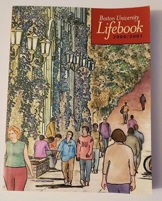 Boston University Lifebook 2000/2001, Good Condition