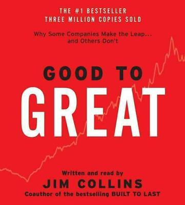 Good to Great CD: Good to Great CD by Jim Collins (English) Compact Disc Book Fr