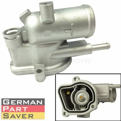Engine Coolant Thermostat w// Housing Gasket For Mercedes W211 E320 CDI 2005 2006
