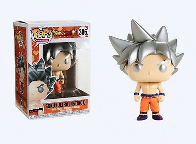 Funko Pop Animation: Dragon Ball Super - Goku (Ultra Instinct) Figure #31633