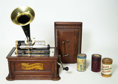 Columbia Model Be  Phonograph Phonographen