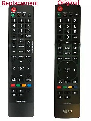 New AKB72915206 REMOTE Replacement for LG LCD LED HDTV Smart TV