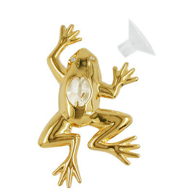 1 Lot of suncatcher frog with crystal elements