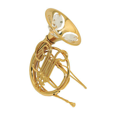 1 Lot of french horn with crystal elements