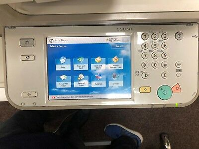 Canon 5030i All-in-One Colour Office: Printer, Copier & Scanner -ERROR ON SCREEN