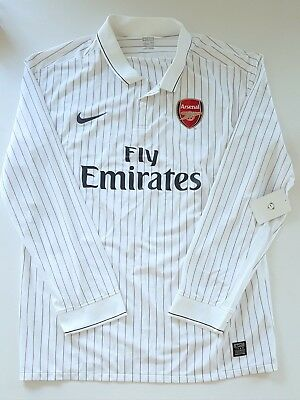 Nike Arsenal Shirt Player Issue 2009/10 Soccer Jersey Football Maillot Maglia Og