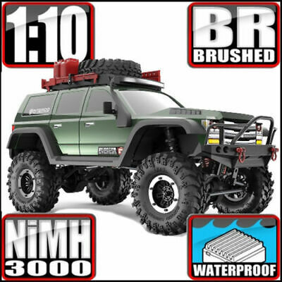 Redcat Everest Gen7 Pro 1/10 Off-Road Brushed Rtr Green Monster Truck