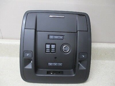 New 15 16 17 Chevy GM Escalade Roof Console, Mirror, Sunroof Switch OEM 23452593