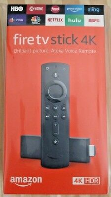 Fire TV Stick 4K with all-new Alexa Voice Remote, streaming media player Free Sh