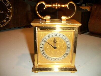 Antique B & L Swiss Carriage Clock With Alarm.. Works needs cleaning and buffing