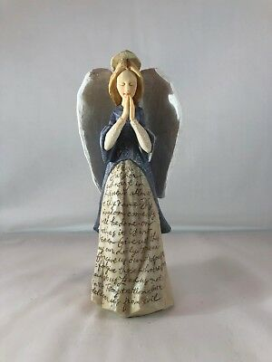 Foundations by Karen Hahn Angel/Our Father Figurine in Box