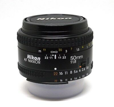Nikon AF Nikkor 50mm f/1.8 (version no D)