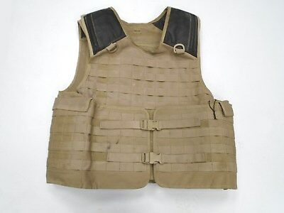 Rare Army Issue Tan Colour Osprey Armour Vest Cover - SOLO made - Good condition