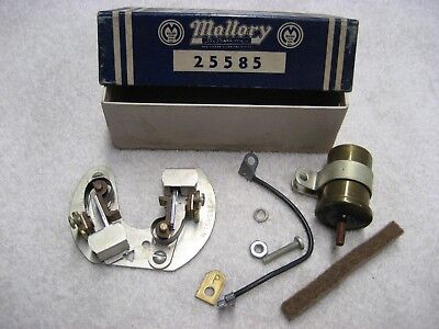 Mallory Dual Point Conversion Kit 25585 1957-1959 Ford Mercury Lincoln V-8