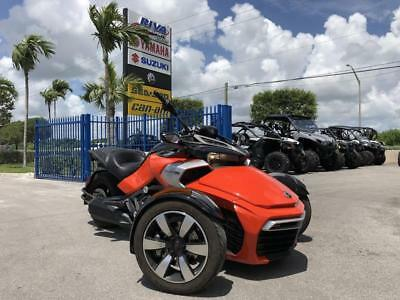 2015 Can-Am Spyder F3 S -- Financing Available Trade-Ins Welcome