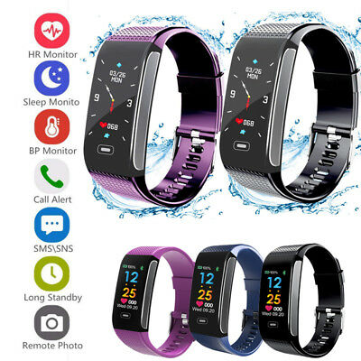 CK18Fitness Smart Watch Activity Tracker Women Men Fitbit Android iOS Heart Rate