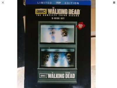 The Walking Dead Season 3 Collectors/Limited edition Blu Ray USA Import