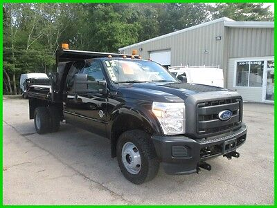 2012 Ford F-350 XL 2012 FORD F 350 4WD EXTENDED CAB DUMP POWERSTROKE DIESEL