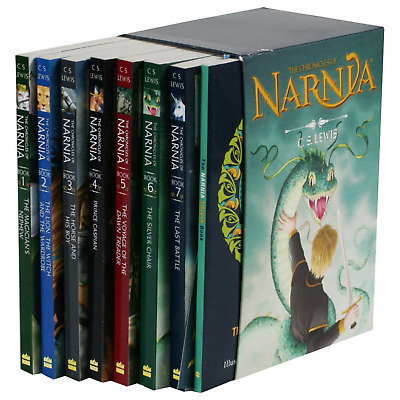 BRAND NEW! The Chronicles of Narnia by C.S. Lewis: 8 Book Box Set