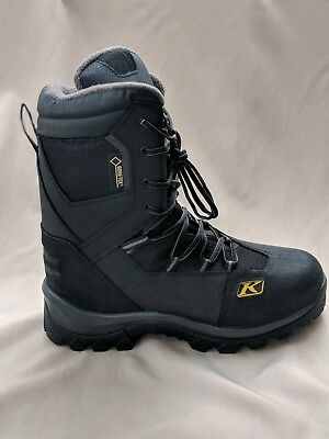 Klim Mens Adrenaline GTX Gore-Tex Insulated Snowmobile Boots US size 13