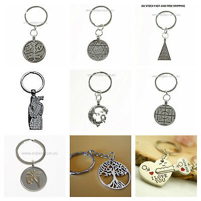Animals Pagan Metaphysical Religious Believers Love Jewellery Key Chain Key Ring