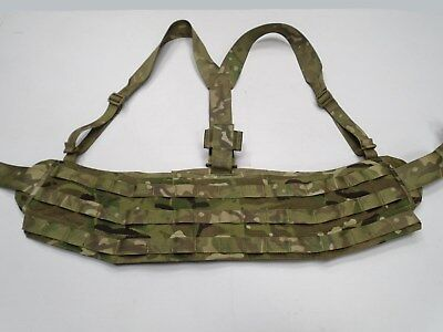 MTP Molle Belt Virtus complete with adjustable Yoke Shoulder Harness - Good Cond
