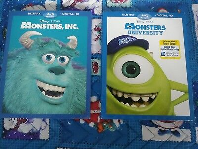 monsters inc and monsters university 3 dvd widescreen set legal