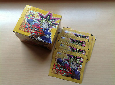 Topps YU-GI-OH Caja 50 sobres Stickers box sealed 50 packs Merlin YuGiOh 1st Ed.