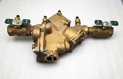 """New Watts 909 Qt Rpz Backflow Preventer Reduced Pressure Zone Assembly 1"""""""