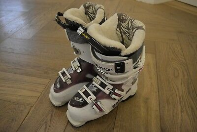 SALOMON SKISCHUH QUEST Access X55 Damen weißlila EUR 16