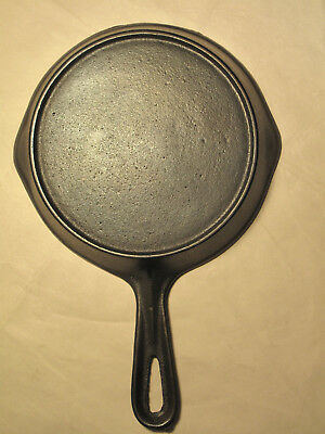 Vintage Vollrath Cast Iron SKILLET No 3 RESTORED Outside Heat Ring Unmarked