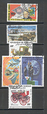 Djibouti - Small Lot of Stamps Years 1979-1985