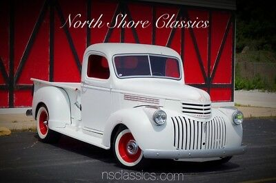 1941 Pickup SHOW TRUCK-WORLD OF WHEELS TOP 20 WINNER-FULL REST 1941 Chevrolet Pickup, Pearl White with 300 Miles available now!