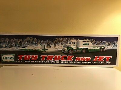 Hess Toy Truck and Jet 2010 NEW IN BOX