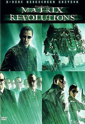 The Matrix Revolutions (Two-Disc Widescreen Edition) DVD **DISCS ONLY**