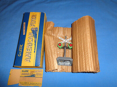 American Flyer #760 Automatic Highway Flasher w/Original Box & Wrapper. Working