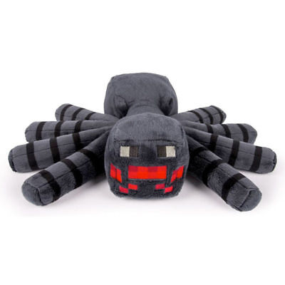 """Minecraft Large Soft Toy Plush Spider (approx 14"""" 35cm)  large spider"""