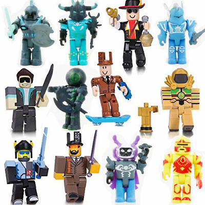 2018 Roblox Figures 6 Piece Set  PVC Game Roblox Toy Mini Box Package Kids Gift